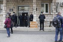 Navijači i građani protestovali u Mostaru zbog brutalnosti policije