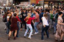 Flashmob na Trgu Republike za Svetski dan igre