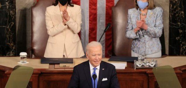Biden pred Kongresom: Amerika kreće napred