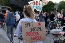 Masovni protest u Ljubljani protiv vlade Janeza Janše