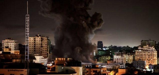 Izrael nastavio vazdušne napade na Gazu