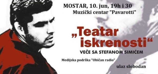 """""""Teatar iskrenosti"""" u Muzičkom centru Pavarotti"""