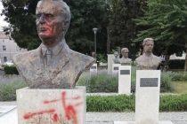 Vandali Titov park u Puli nazvali Pavelićevim
