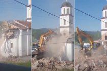 Srušena crkva u dvorištu nane Fate Orlović