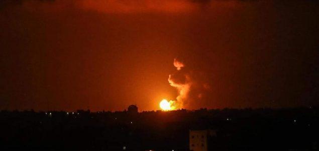Izraelska vojska bombardovala položaje Hamasa na području Gaze