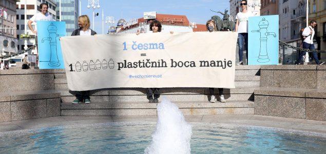 """Zelena akcija: """"Zahtijevamo pravo na vodu bez ambalaže!"""""""