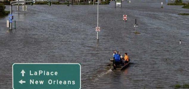 Dvije žrtve uragana u Louisijani