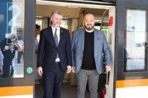 Adnan Šteta: Vožnja od Pazarića i Hadžića trajat će kraće, građani sada imaju voz