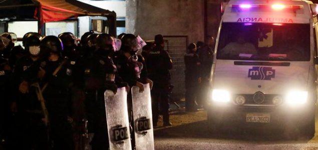 Najmanje 116 ljudi poginulo u sukobu bandi u ekvadorskom zatvoru