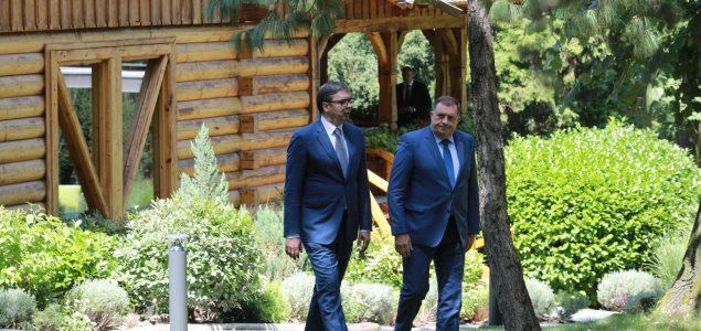 Dodik i Vučić na braniku nasilja, mržnje i neslobode