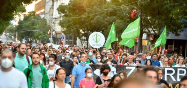 Protest u Beogradu: Traži se čist vazduh