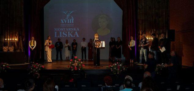 Jelena Kordić Kuret najbolja glumica festivala Mostarska liska