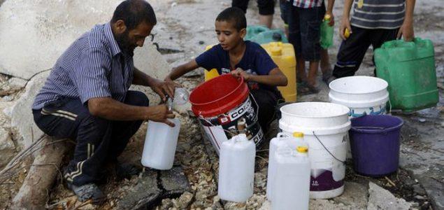 Gaza bez čiste vode: 'Svjedoci sporog trovanja svoje djece'